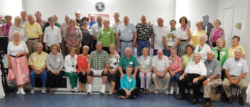 Over 70 alumni attended the 13th annual Ole Grad Reunion this year at Lake Tiak O'Khata.