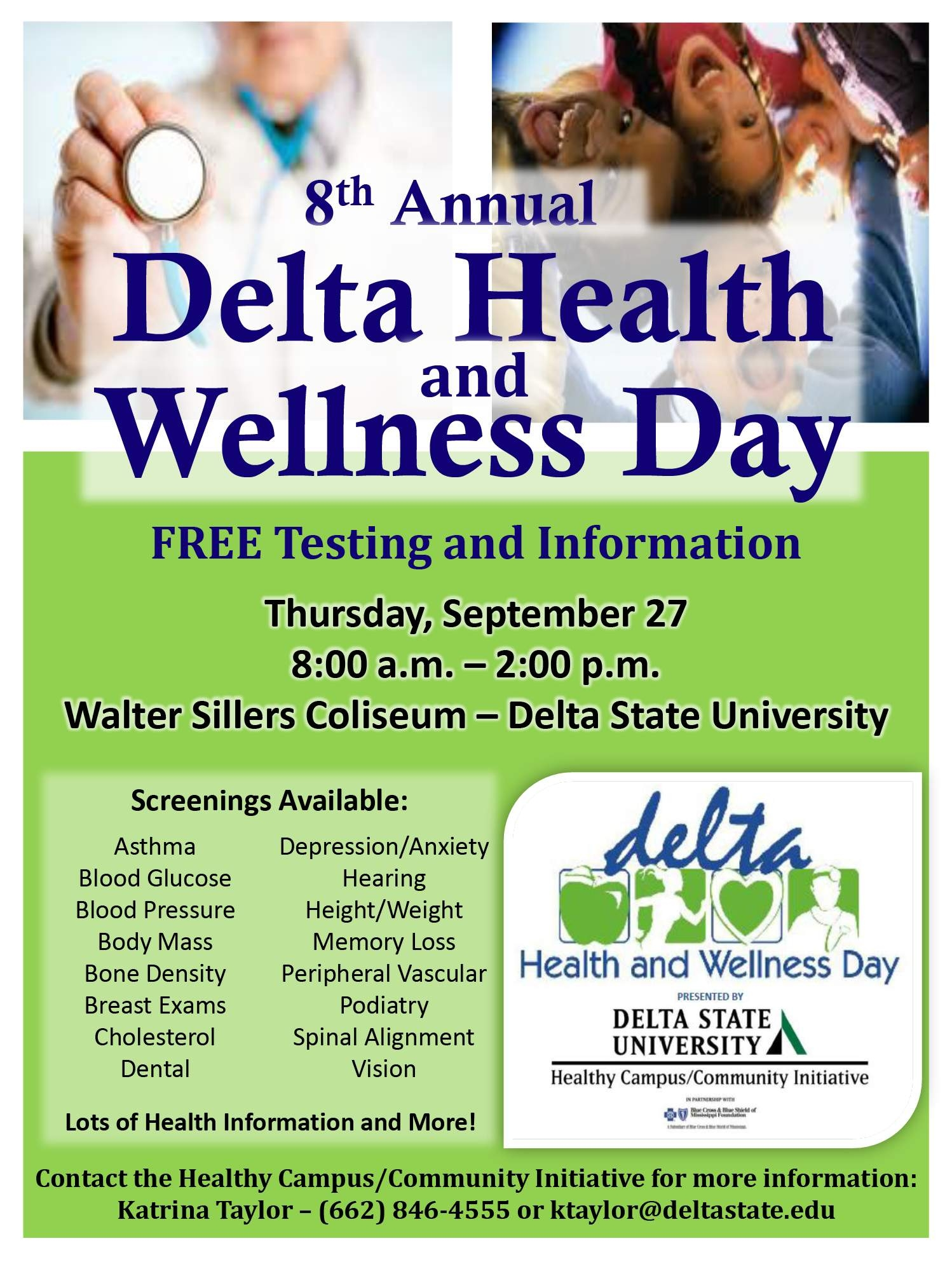8th Annual Delta Health And Wellness Day