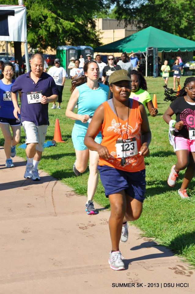 Over 75 youth and adults participated in HCCI's 5K Run/Walk Challenge.