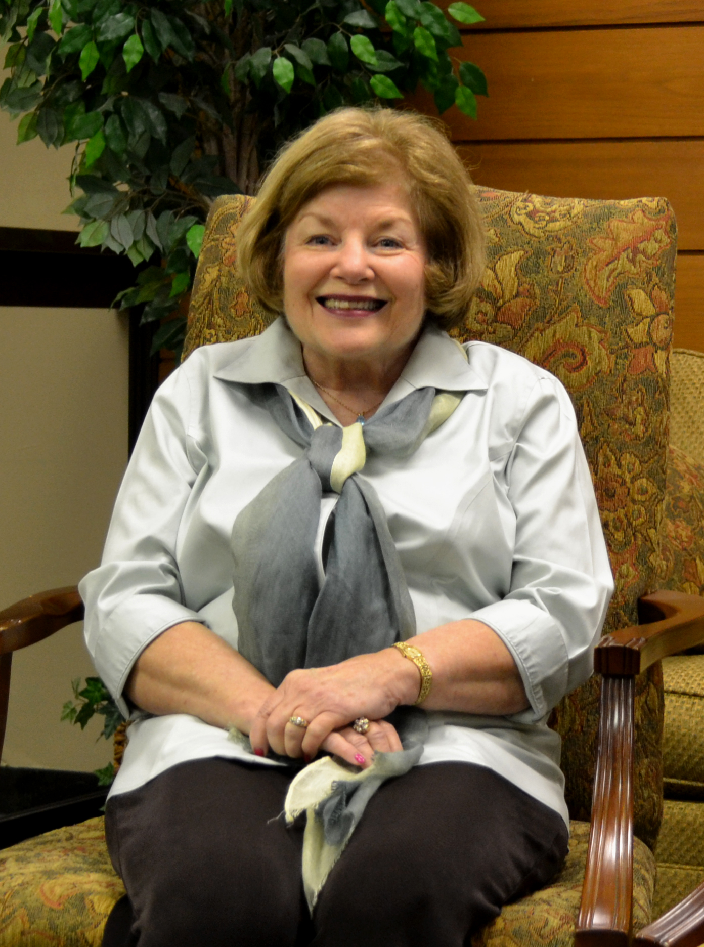 Dr. Janie Allen-Bradley has served Delta State as a dedicated promoter of literacy. As a retired educator, her passion for literacy is carried forward.