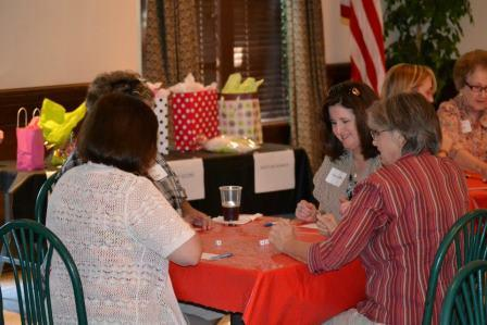 Each year, Phi Mu hosts a bunko tournament, raising funds for the Children's Miracle Network Hospitals.