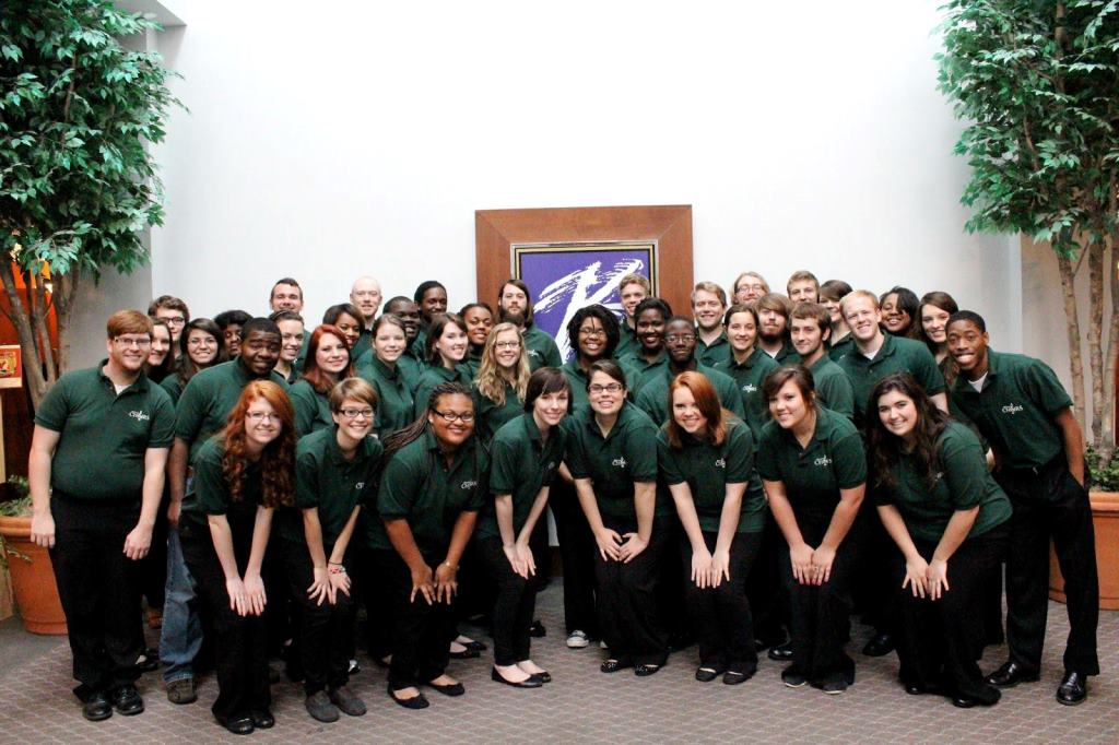 The Delta State University Chorale is one of four choirs scheduled to perform at the Mississippi Music Educators Conference at the University of Southern Mississippi in April of 2014.