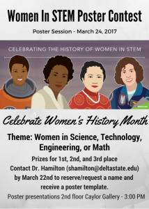 Womens History Poster Contest