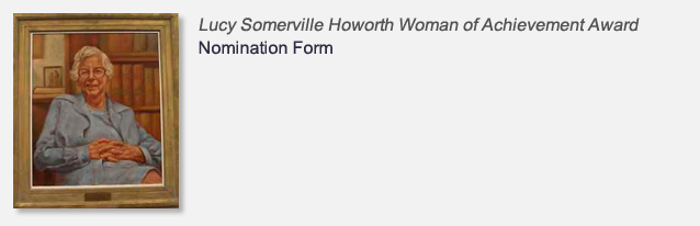 Lucy Somerville Howorth Nomination Form