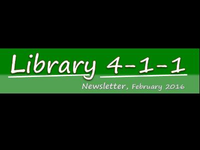 Library newsletter, February
