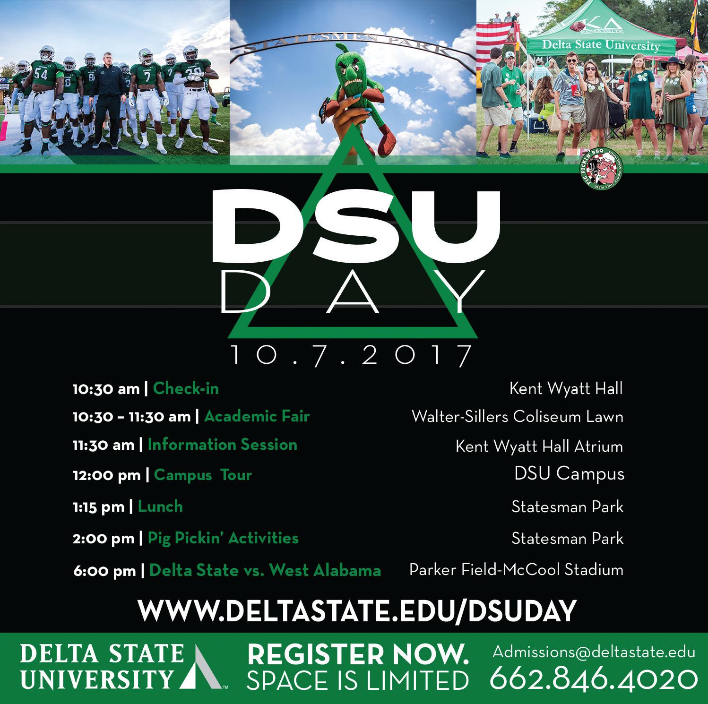 DSU Day Schedule