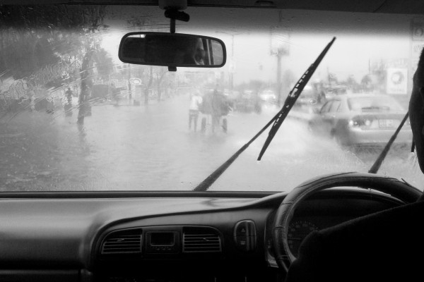 On assignment for the UN in Maputo, Mozambique during a flood