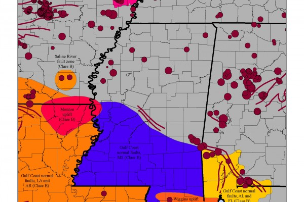 Earthquakes and Mississippi