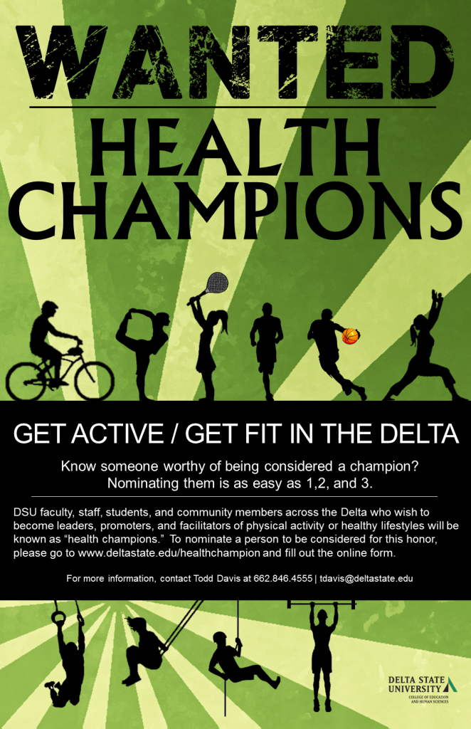 health champion poster
