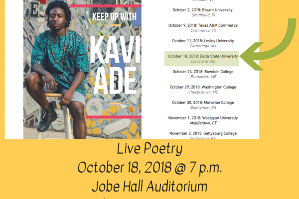 Kavi Ade: Live Poetry