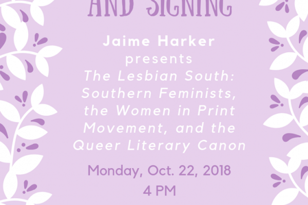 Jaime Harker: Book Reading and Signing