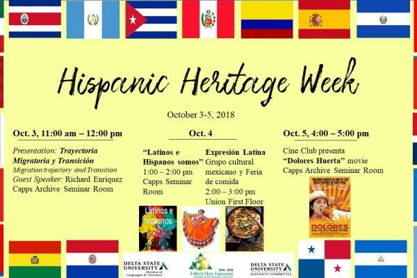 Hispanic Heritage Week