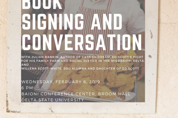 Catfish Dream 2019: Book Signing and Conversation