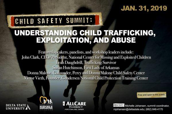 Child Safety Summit: Understanding Child Trafficking, Exploitation, and Abuse