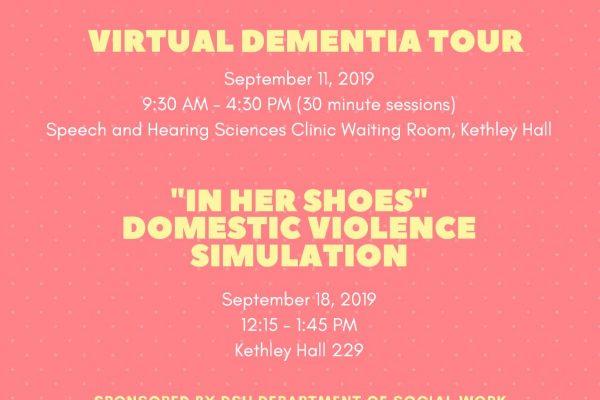 Fall 2019 - Social Work Simulations