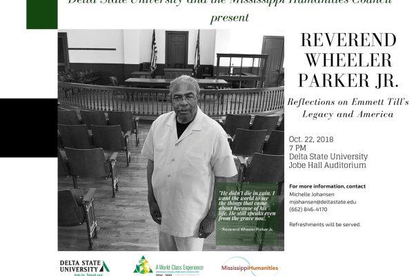 Reverend Wheeler Parker Jr.