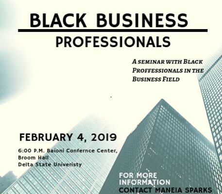 Black Business Professionals Seminar