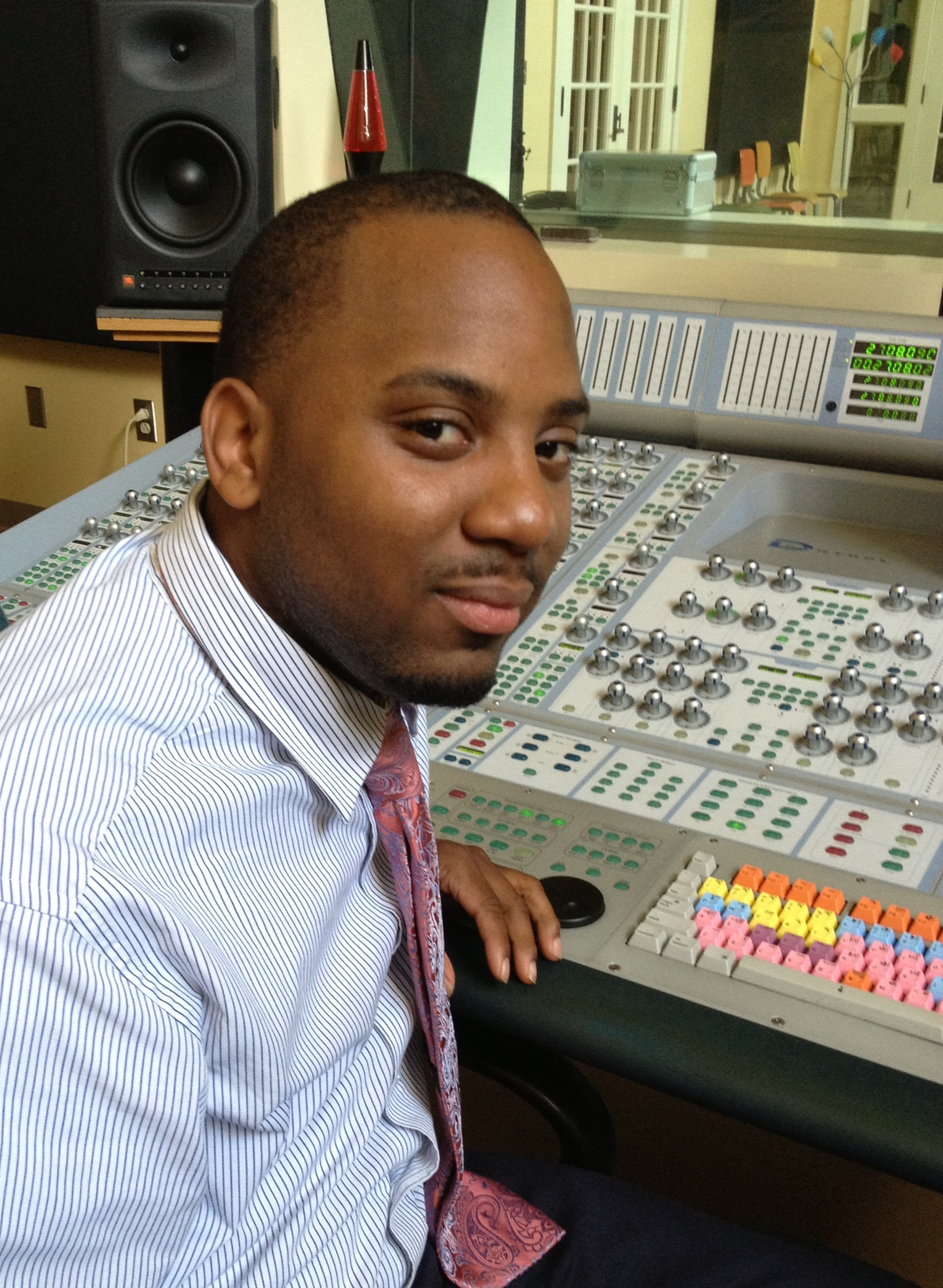 Caption: The Healing With a Groove project will be coordinated by Travis Calvin, Delta Music Institute graduate.