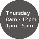 Thursday Hours