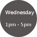 Wednesday Hours
