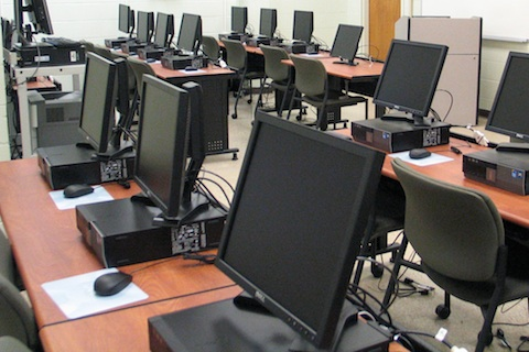 Science computer lab