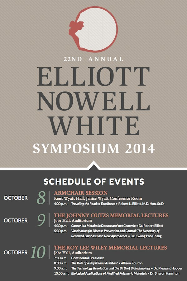 Elliott Symposium Events