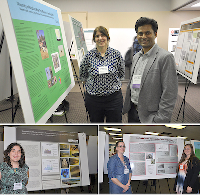 Students and faculty present research