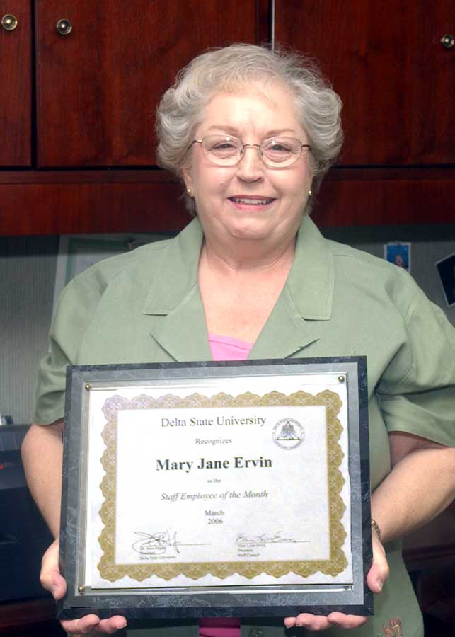 Mary Jane Ervin
