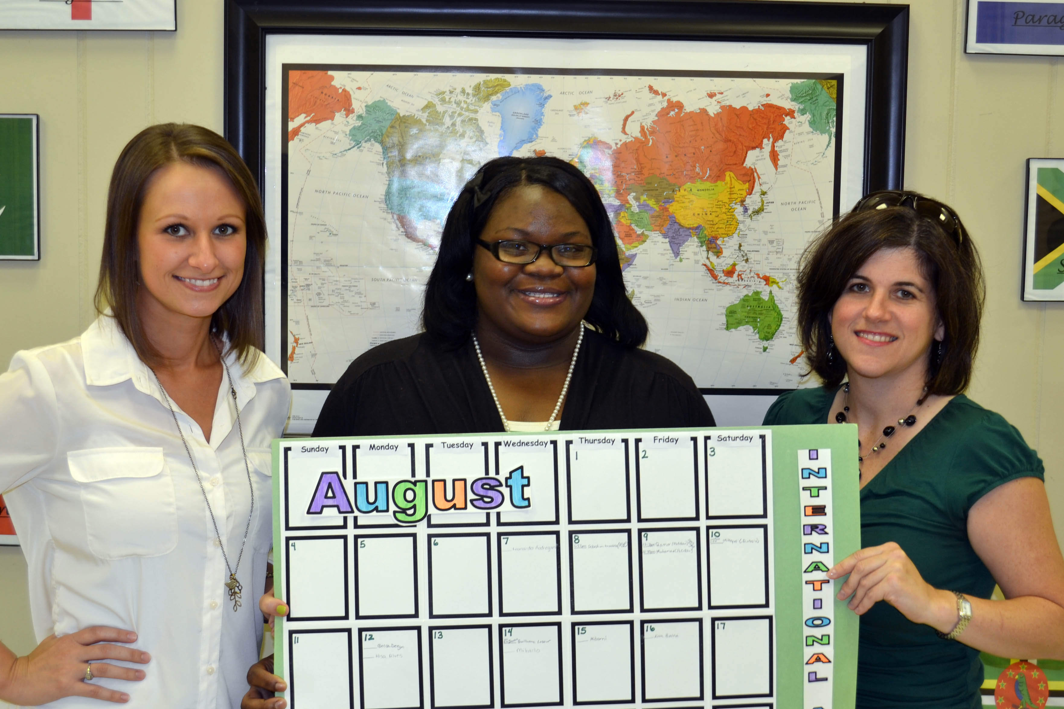 Student Success Center staff serve as mentors to international students.