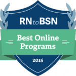 RN to BSN Best Online Programs Logo