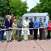 Fitness trail ribbon Cutting