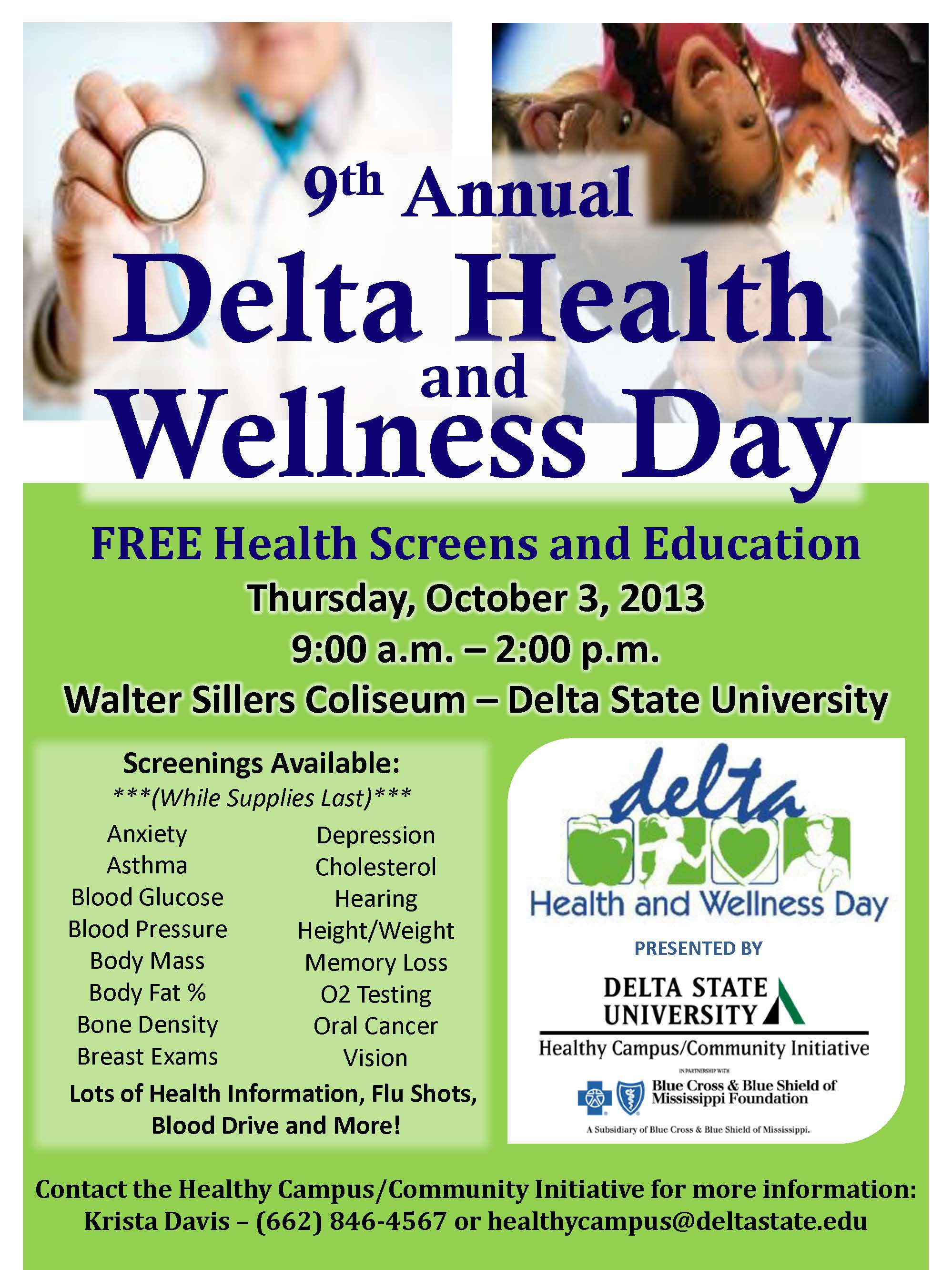 Delta Health and Wellness Day announced - News and Events