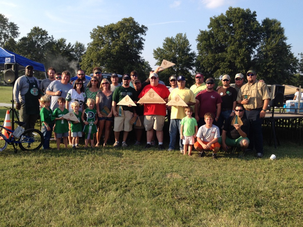 2013 Pig Pickin' BBQ Winners