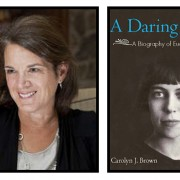 "Dr. Carolyn J. Brown, author of ""A Daring Life: A Biography of Eudora Welty,"" presents at First Tuesday Oct. 15 on campus."