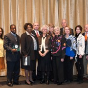 "Among those taking part in the 2013 Mississippi AFP National Philanthropy Day included (l to r): Maggie Wade, Ronnie C. Crudup Jr., Janie McGee, James A. Peden, Joe Ann Ward, Ann Giger, Robbie Hughes, J.O. ""Joc"" Carpenter, Margaret McLarty, Marcia Lane, Chris Blount and Amanda Fontaine."