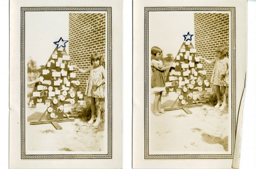 Keith Frazier Somerville  taught word recognition with her word Christmas tree in the 1920s.