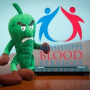 Delta State was named College of the Year for 2013 by Mississippi Blood Services.