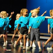 PLUS campers participate in the final performance.