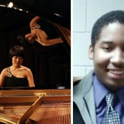 Music majors Minji Kim and Michael Sparks will travel to Louisville, Ky. to compete in the Young Artist Performance Competition of the Music Teachers National Association.