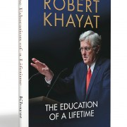 "Robert Khayat, former Chancellor of the University of Mississippi and author of  ""The Education of a Lifetime,"" will present on Jan. 29 in the Jobe Hall Auditorium."
