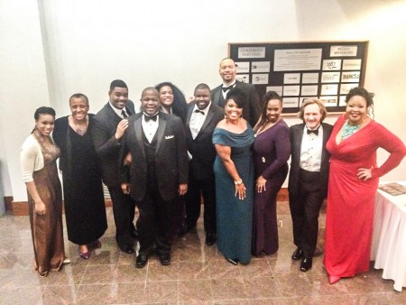 The Bologna Performing Arts Center presented the American Spiritual Ensemble in concert on Thursday.
