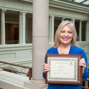 Rebecca Bouse, employment and training program coordinator in Human Resources at Delta State, was recently honored as Delta State's January 2014 Employee of the Month.