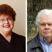 Author Charlaine Harris and songwriter Dan Tyler highlight the Thacker Mountain Radio broadcast at the Delta Music Institute on March 1.