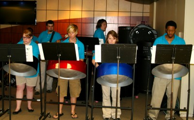 The First Tuesday Program will highlight the evolution of steel band music.
