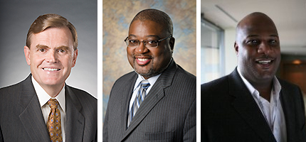 Keynote speakers for the International Business Symposium at Delta State on April 4 include David Abney, William Bell and Dwight Herlong.
