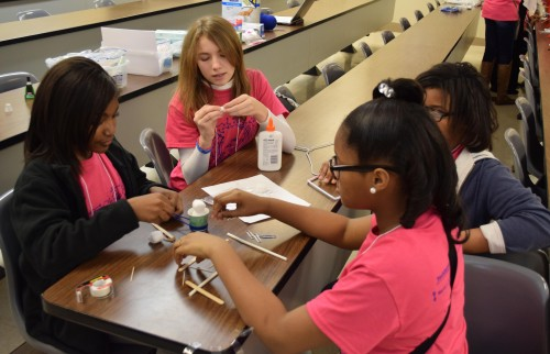 Tech Savvy participants learned skills in science, technology, engineering and mathematics at Delta State.