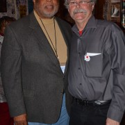Congressman Benny Thompson (L) and Dr. Luther Brown (R)
