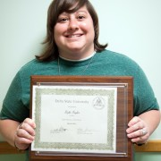 Lezlie Taylor, teacher at the Hamilton White Child Development Center, is Delta State's March 2014 Employee of the Month.