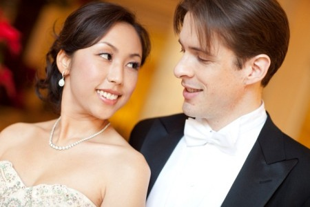 Pianists Sylvia Hong and Michael Rector will present a guest piano duo on April 7.