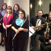 The Delta State Flute Ensemble and Saxophone Quartet will perform in the BPAC on Wednesday at 7:30 p.m.